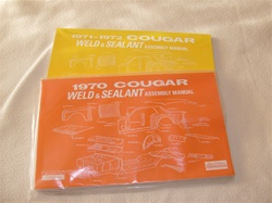 Mercury Cougar Weld/Sealant Assembly Manual