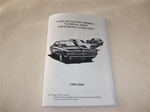 Mercury Cougar Decoder Book