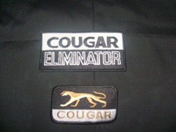Cougar Jacket Patches