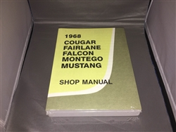 1968 Mercury Cougar Shop Manual
