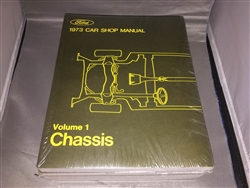 1973 Mercury Cougar Shop Manual