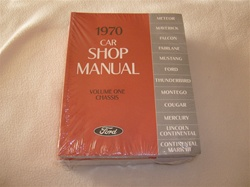 Mercury Cougar Shop Manuals