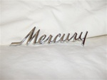 1967-1968 REPRODUCTION MERCURY TRUNK LID SCRIPT