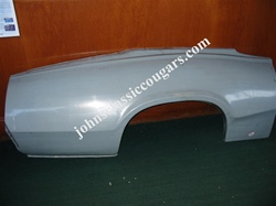 JC-302 1969-1970 REPRODUCTION COUGAR Repair Quarter Panel