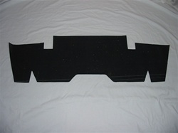 UPH-UL-19 '67-'68  UNDER REAR SEAT INSULATION