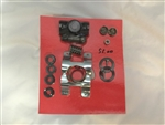 1967-1970  Power Steering Valve Repair Kit-with stud.