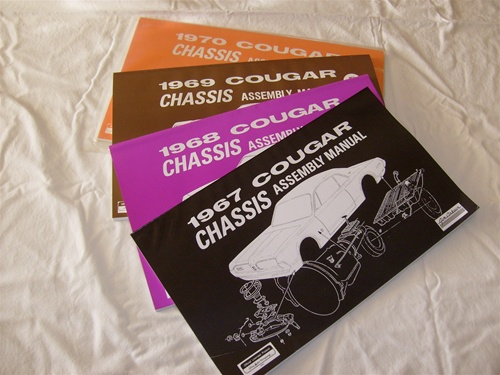 1968 Cougar Wiring Diagram Manual