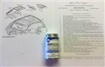 UPH-HL-6 1967-1973 COUGAR HEADLINER INSTALLATION KIT