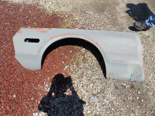 1968 Mercury Cougar Used Front Fender