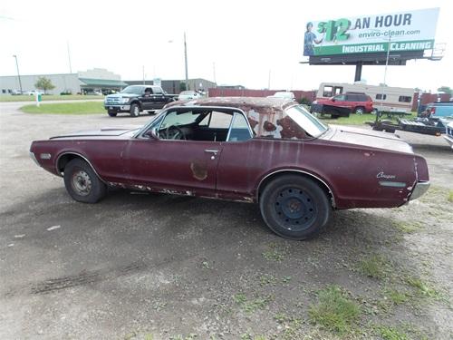 For Sale 1968 Mercury Cougar Xr 7 G